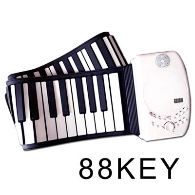 摺疊攜帶/充電式,88鍵 手捲鋼琴,贈譜架+手提袋+耳機+全配!電子琴/電鋼琴/MIDI