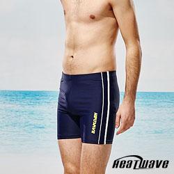 Heatwave熱浪 男泳褲 五分褲-海洋線