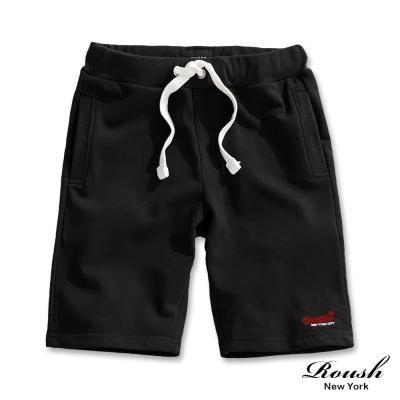 ROUSH 美式基本款水洗棉質短褲 (3色)
