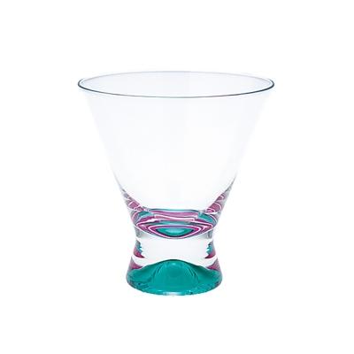 DANSK 幻彩雞尾酒杯(綠色×粉紅色)