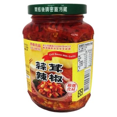耆盛 蒜茸辣椒(370g)