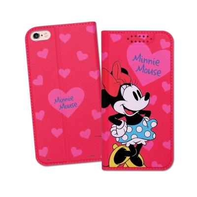 迪士尼授權正版 iPhone 6S Plus 5.5吋 印花系列彩繪皮套(米妮)