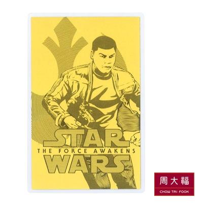 周大福 星際大戰系列 千年鷹黃金收藏卡