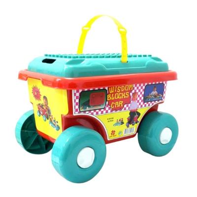 小嘟嘟創意積木車-83-大片裝-台灣生產喔