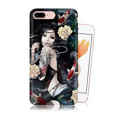 張小白 iPhone 8 Plus/7 Plus 古典奇幻插畫 滿版空壓保護殼(...