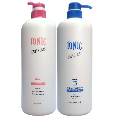 IONIC艾爾妮可 玫瑰精油洗髮精1000ml+一點靈護髮素1000ML