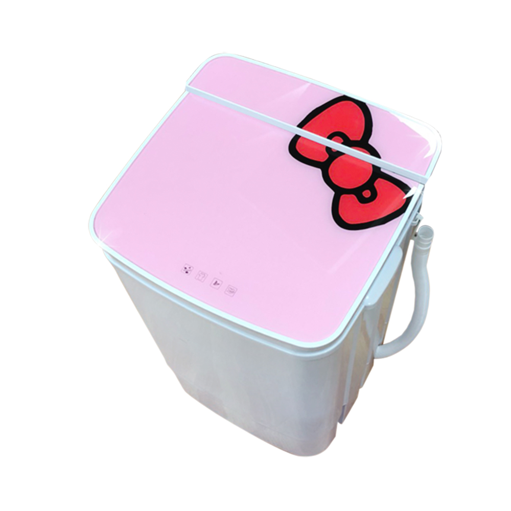 EDISON 愛迪生超會洗二合一單槽5.8公斤洗脫機/粉紅