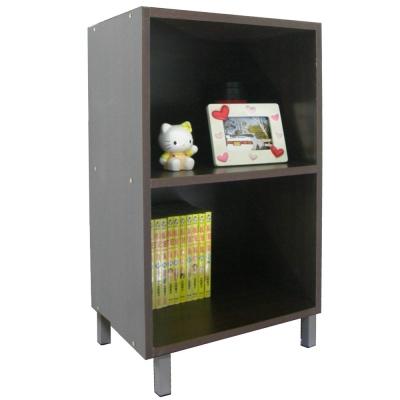 巧菲司美背式二格高腳收納櫃/書櫃 (三色)