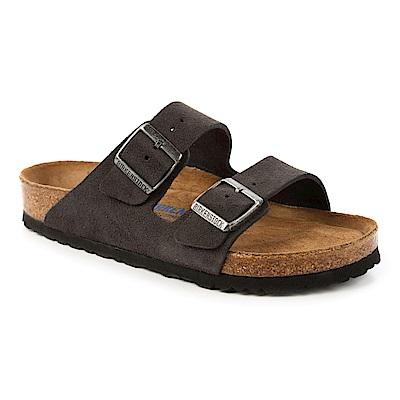 勃肯BIRKENSTOCK 552321。亞利桑那 經典二條拖鞋(古典黑)