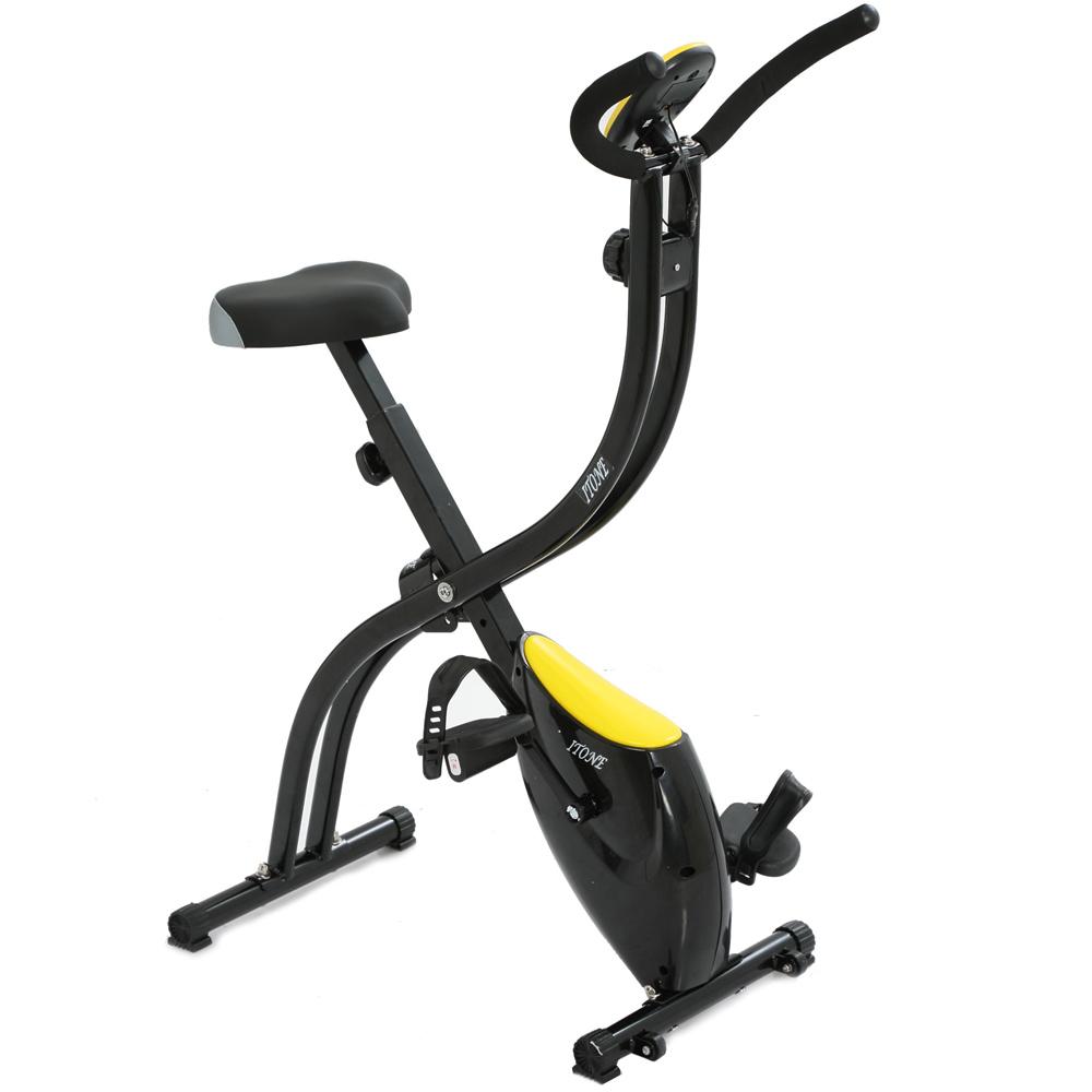 ITone 愛動 尊爵型~有氧磁控健身車(黑黃)