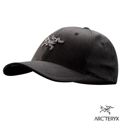 Arcteryx 始祖鳥 24系列 Logo 棒球帽 黑