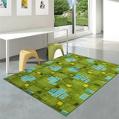 【范登伯格】尚雅★藍道圈毛編織地毯-(綠)-200x260cm