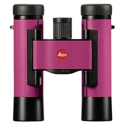 LEICA ULTRAVID COLORLINE 10X25雙筒望遠鏡-櫻桃粉色