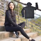 【日本熱銷】COLORFULl抗UV吸排涼感連帽外套 黑色
