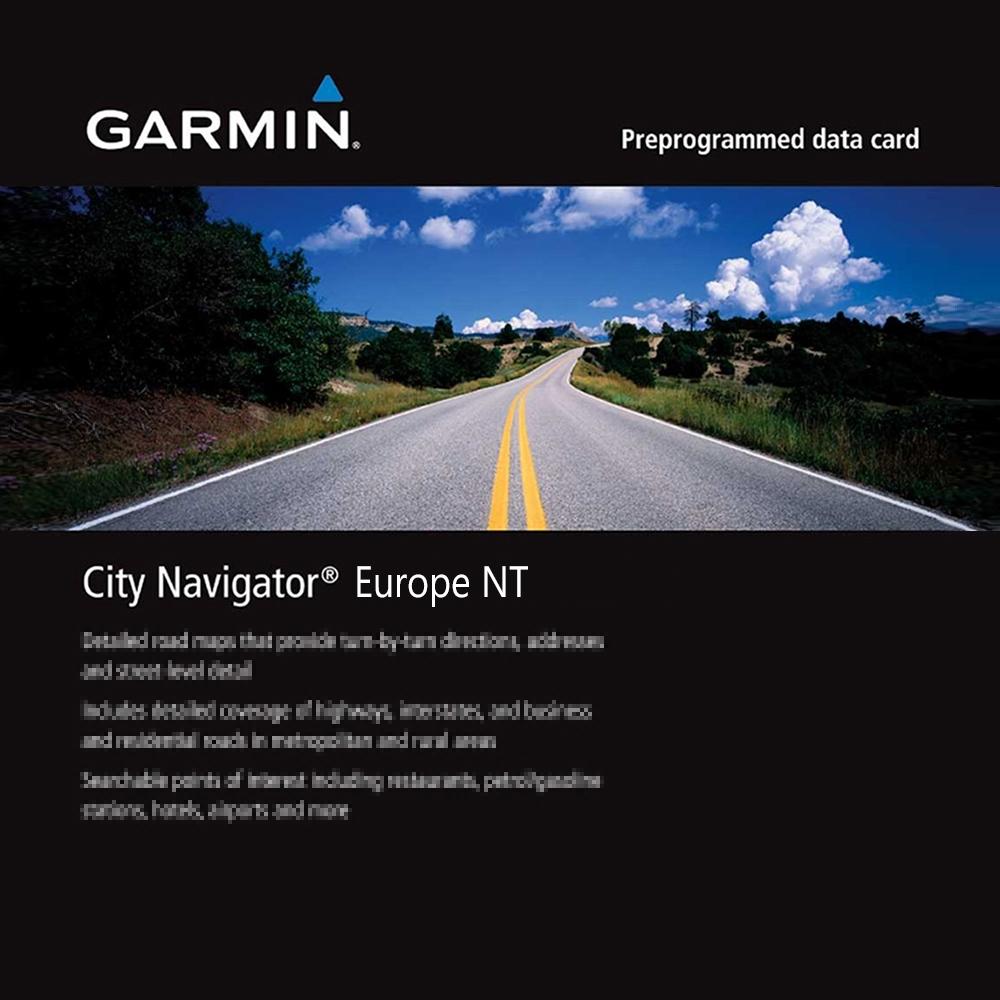 GARMIN 歐洲地圖卡-快