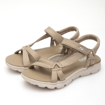 SKECHERS (女) 時尚休閒系列ONTHEGO 400涼鞋-14675NAT