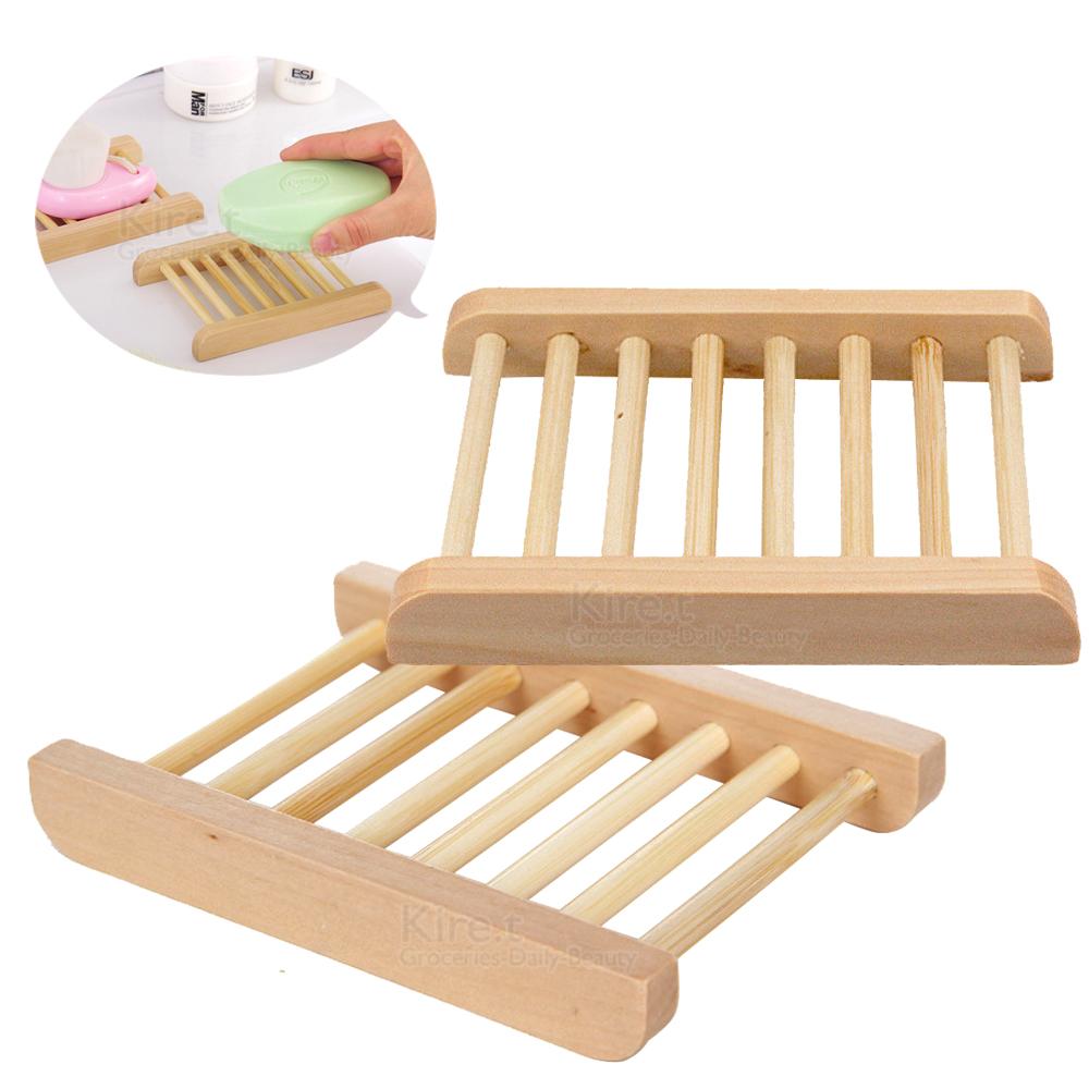 【超值3入】kiret 日式 木質 肥皂架 肥皂盒