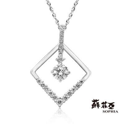 蘇菲亞SOPHIA - 愛的方程式0.20克拉鑽石項鍊