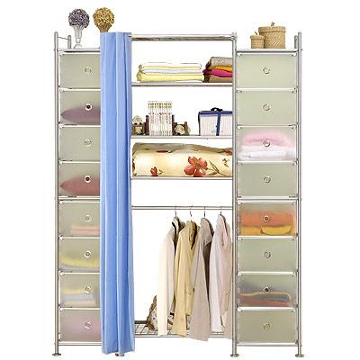 巴塞隆納-W4+2D型60公分衣櫥置物櫃