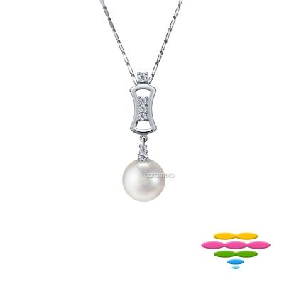 彩糖鑽工坊 18K 淡水珍珠項鍊&鑽石項鍊 東方巴洛克系列
