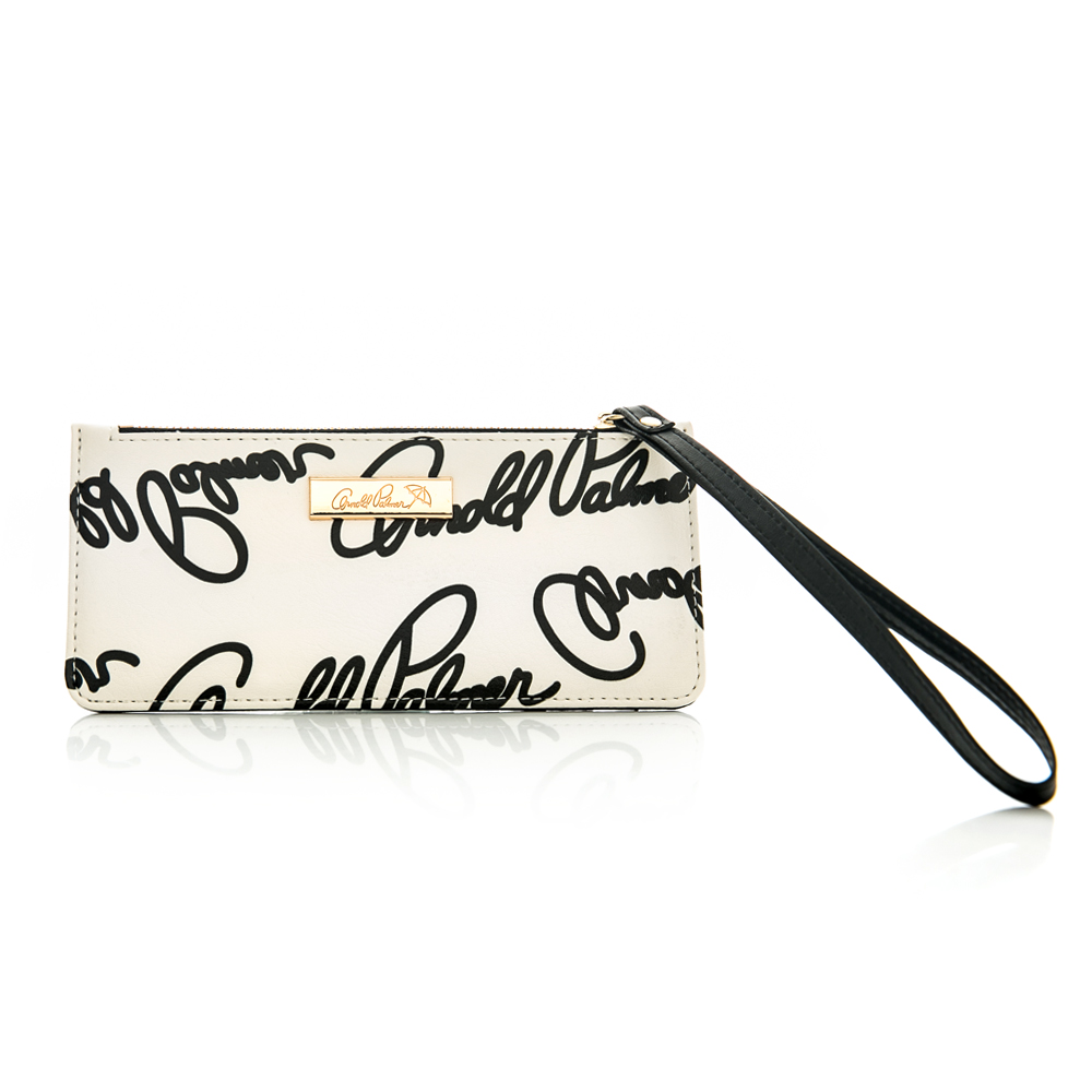 Arnold Palmer- 萬用卡夾 Graffiti 黑白塗鴉系列-黑白