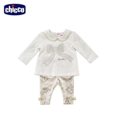 chicco玫瑰蝴蝶結套裝(12個月-18個月)