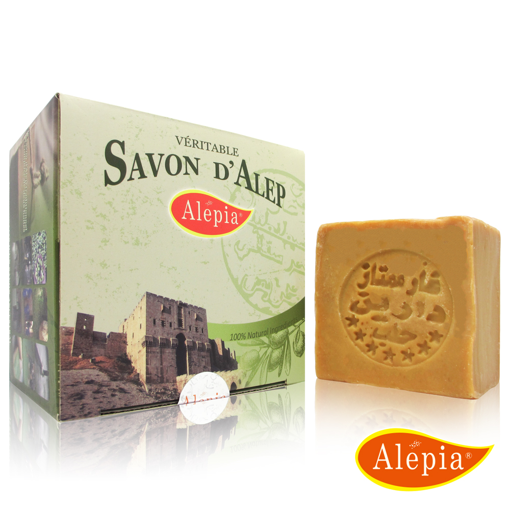 法國原裝進口 Alepia 百年皇室御用精油手工皂禮盒(200gx1)