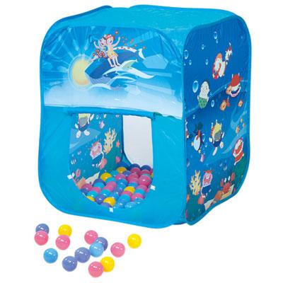 寶貝樂方形帳篷折疊遊戲球屋送200球