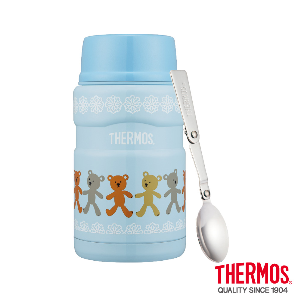 THERMOS 膳魔師超大容量小熊篇食物罐0.72L(SK3021BB)