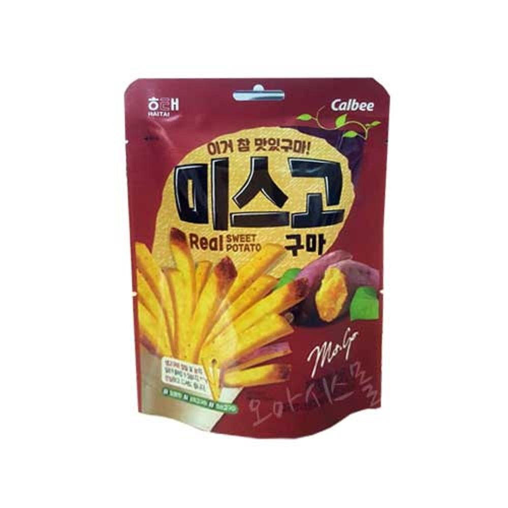 (即期品)HAITAI 韓國地瓜紅薯條(120g)