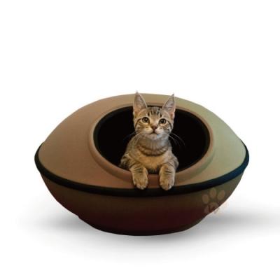 寵喵樂-極簡風格兩用寵物窩LWF-2989-BN咖啡色