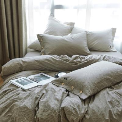 OLIVIA   黃昏  雙人床包被套四件組 水洗棉系列
