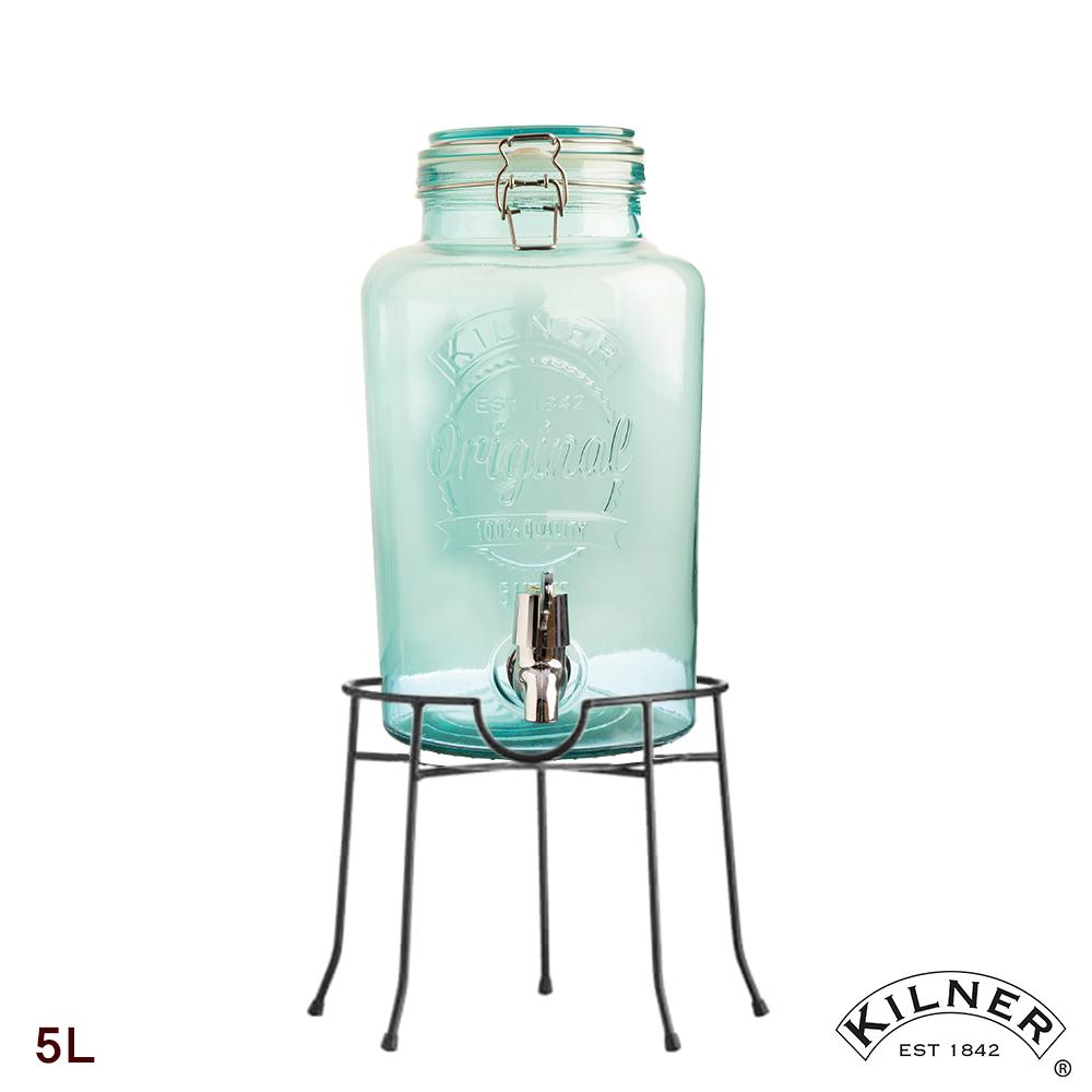 KILNER 派對野餐飲料桶組(含桶架)5L  (4色)