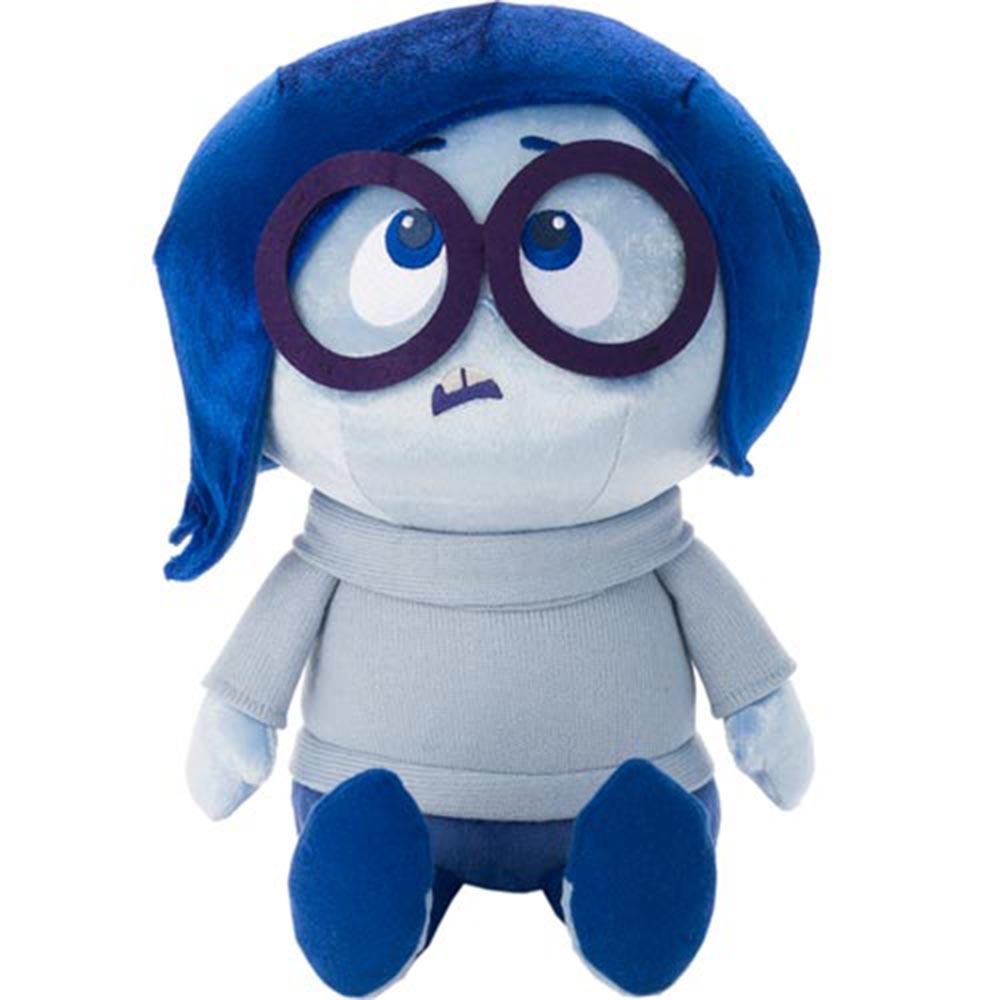 Disney Pixar 腦筋急轉彎Inside Out -  絨毛娃娃 憂憂