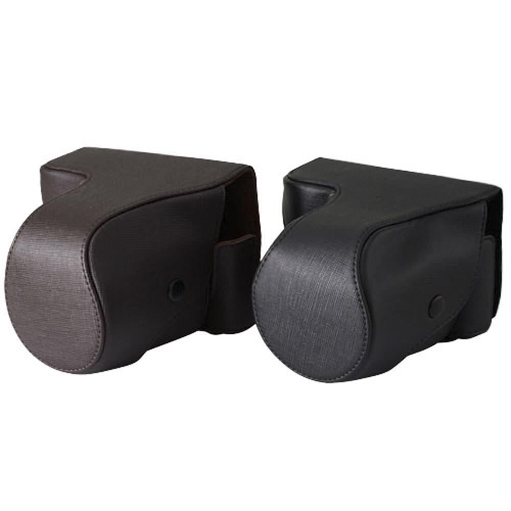 Kamera NEX7 可拆專用皮質包(黑/咖)