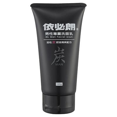 依必朗男性專屬洗面乳-活性碳控油清爽配方(120g)