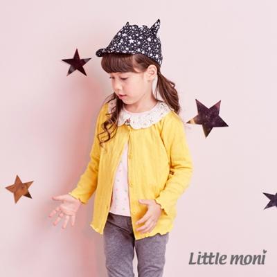 Little moni 不收邊薄針織外套 (共2色)