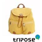 tripose MOVE系列輕休閒翻蓋機能後背包(小) 黃