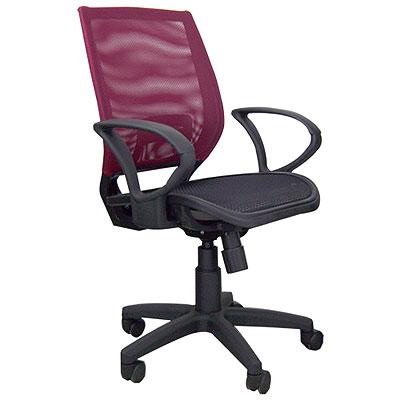 時尚屋 超值全網多功能電腦椅(四色)