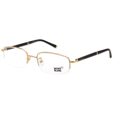 萬寶龍MONTBLANC 光學眼鏡(金色) MB375
