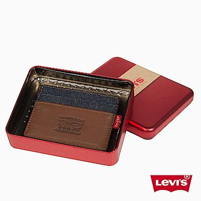 Levis 票卡夾 雙馬壓印 精美鐵盒