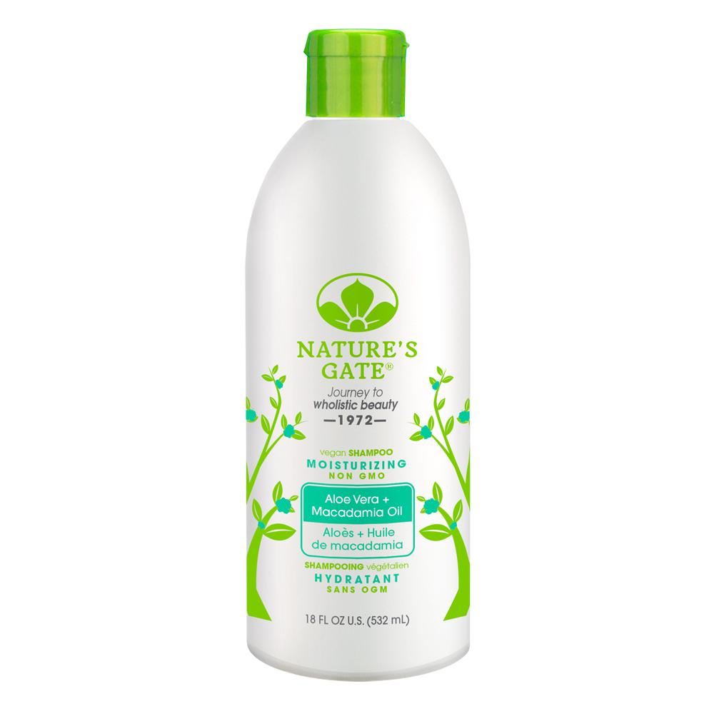 Nature's Gate 經典無基改雙倍蘆薈夏威夷果油植萃保濕洗髮精532ml