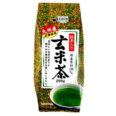 國太樓 抹茶入玄米茶 (200g)