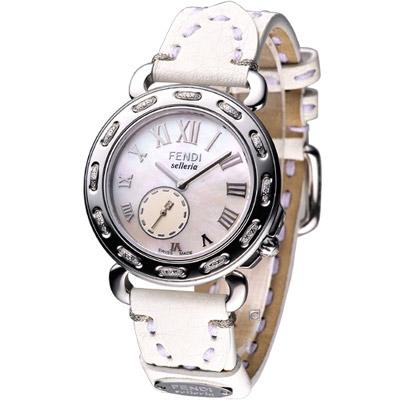 FENDI-selleria-經典時尚小秒針腕錶-32mm