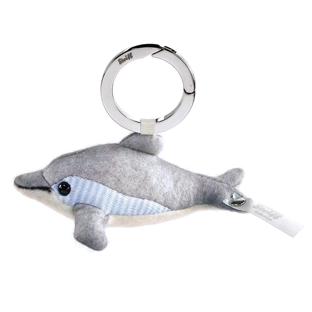 STEIFF德國金耳釦泰迪熊 - 海洋限定版 海豚吊飾 (10cm)