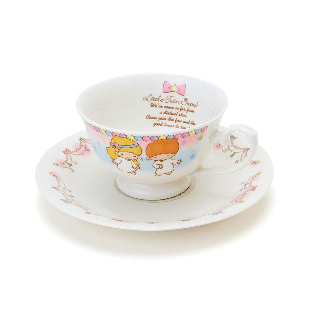 Sanrio雙星仙子40周年紀念陶磁咖啡杯盤組派對