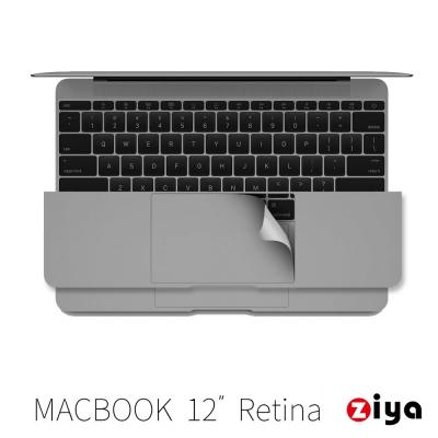 ZIYA Apple Macbook 12吋Retina 手腕貼膜/掌托保護貼 沉穩煉灰款
