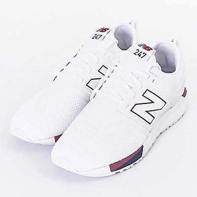 New Balance 男休閒鞋MRL247TR-D 白