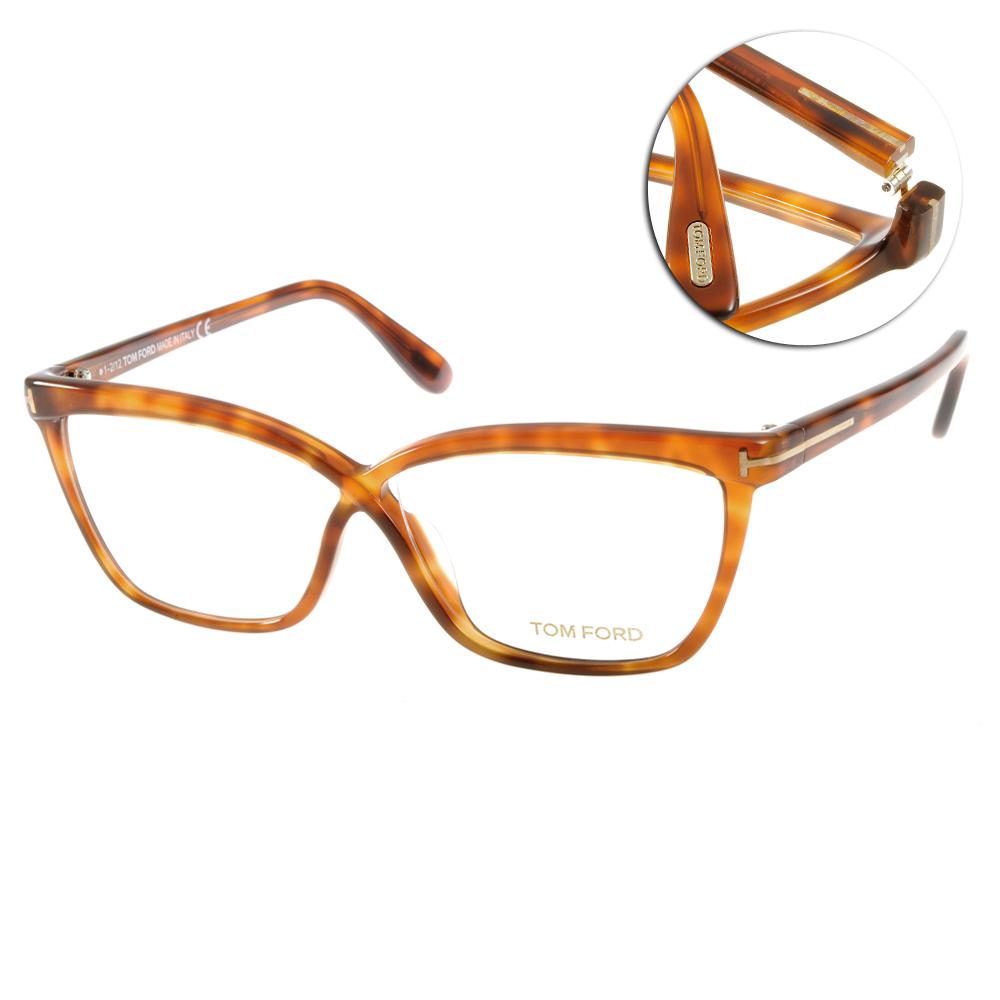 TOM FORD眼鏡 時尚高質感/琥珀#TOM4267 053
