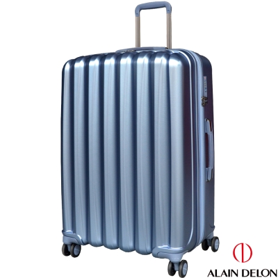 ALAIN DELON 亞蘭德倫 28吋絕色流線系列行李箱(藍)